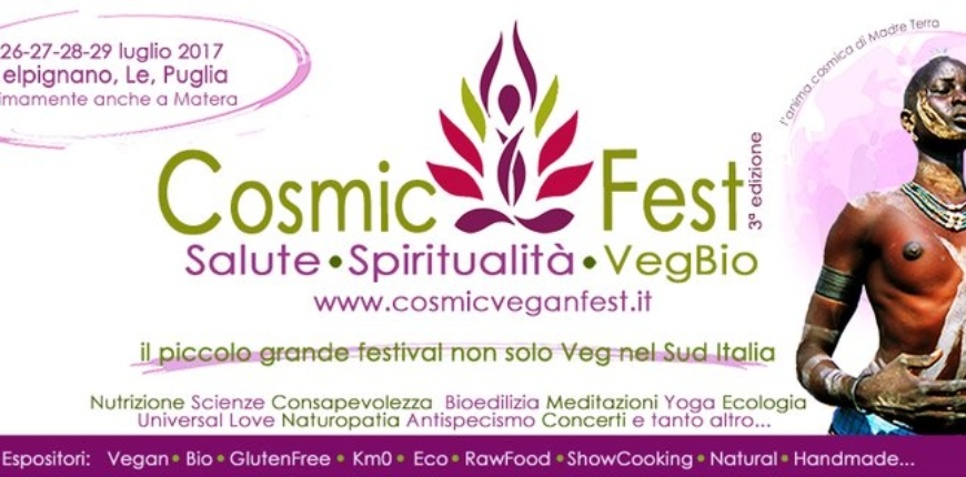 Thai Yoga Massage al Cosmic Fest 2017